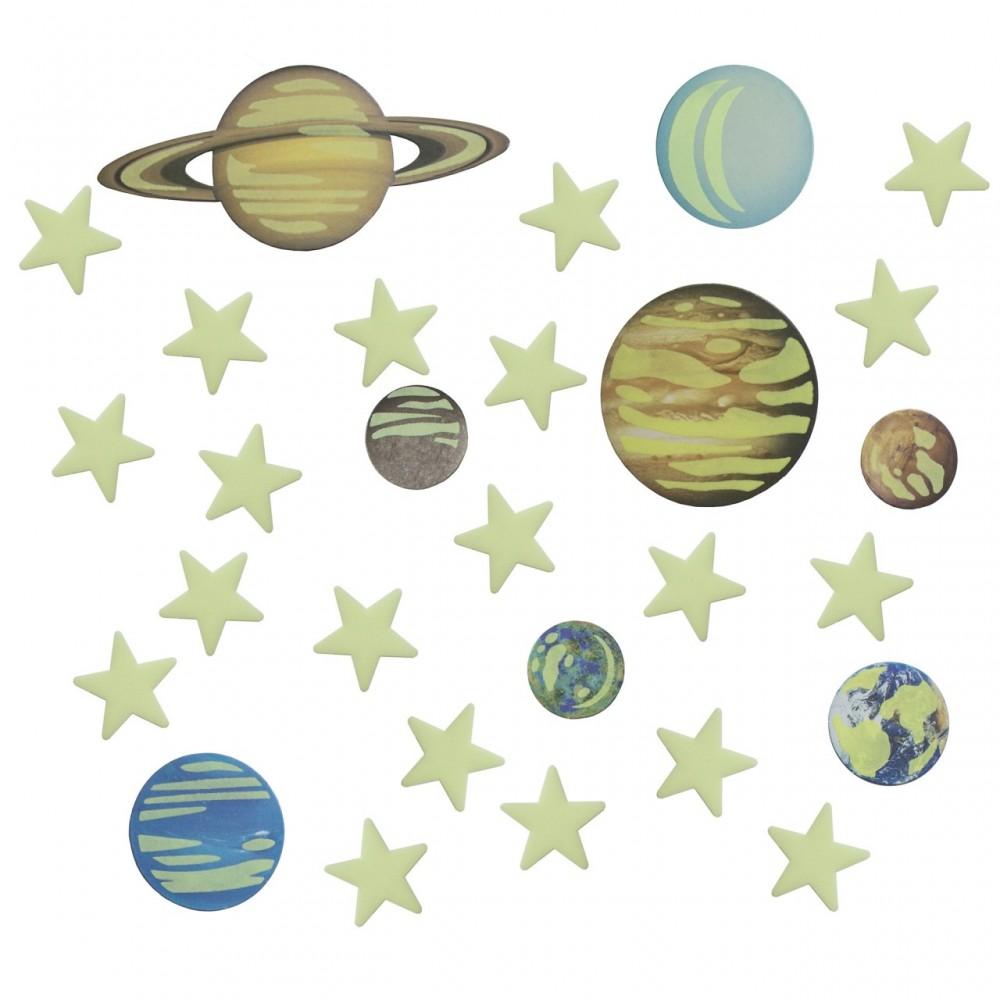 Набор 4M Светящиеся планеты и звезды 00-05635