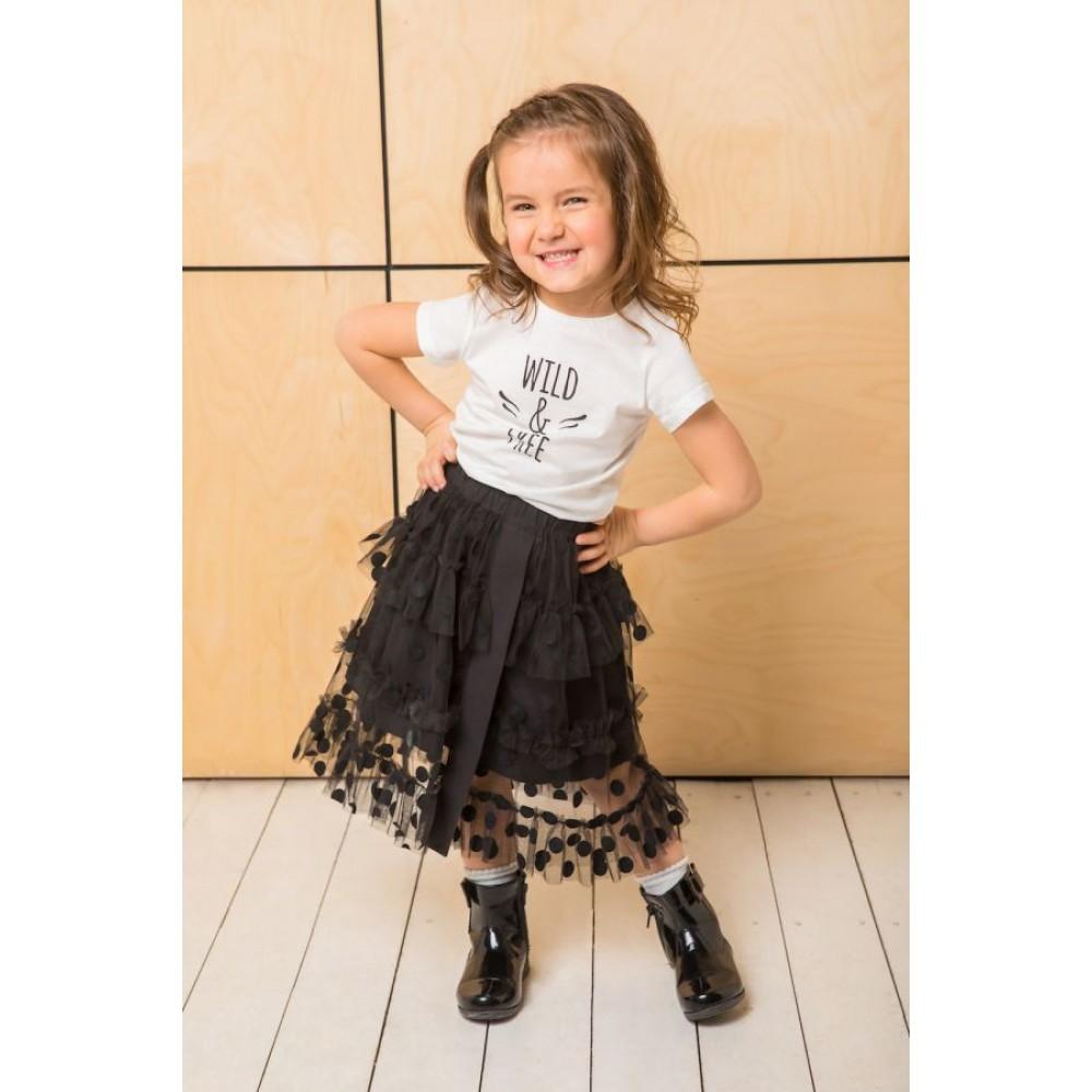 Skirt Miya MS2353, black