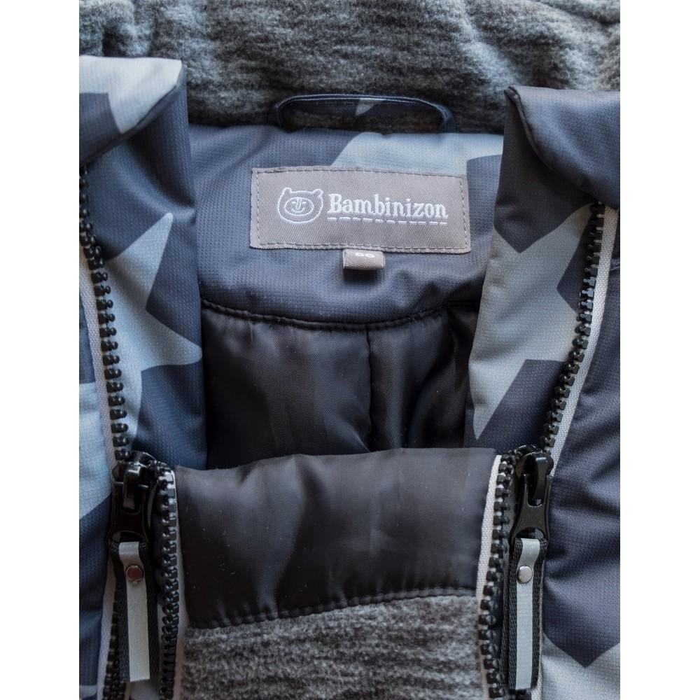 Winter overalls on a heater Stars