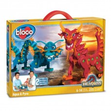 BLOCO 30552 Dragons of Water and Fire