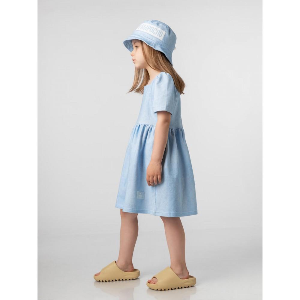 Платье 18-124D голубой