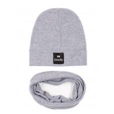 Set of cap and snud BODO 13-30U grey