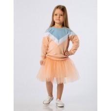 Skirt 16-4D blue