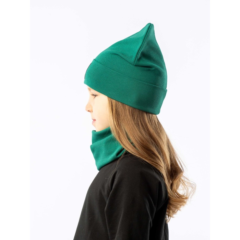 Set of cap and snud BODO 13-30U emerald