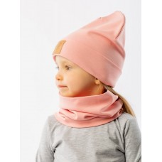 Set of cap and snud BODO 13-17U pink