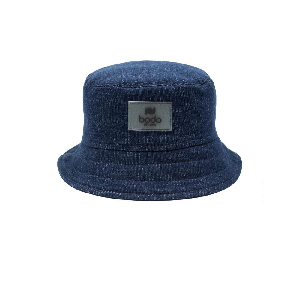 Панама 10-290U синий джинсовый
