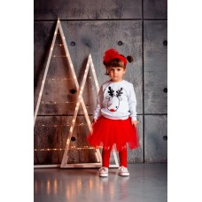 Skirt 16-3D red
