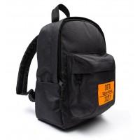 Рюкзак детский 34-28 черный (оранжевый)