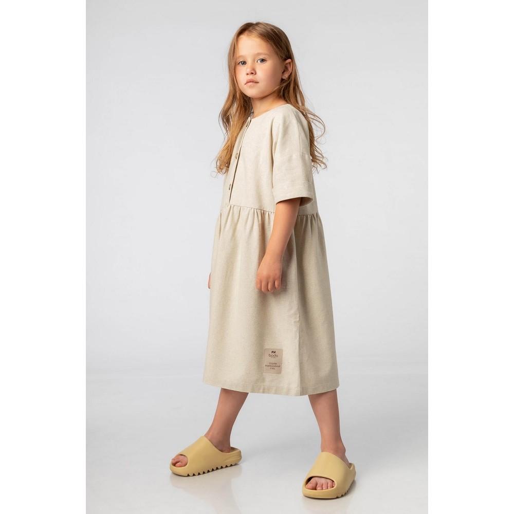 Платье BODO 18-122D бежевый