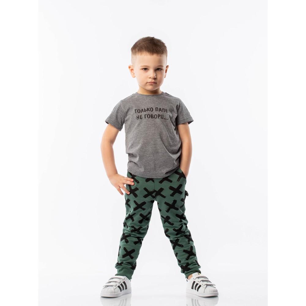 T-shirt BODO 4-109U dark gray