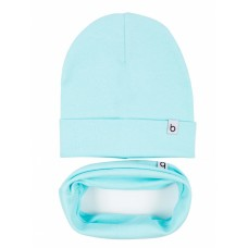 Set of cap and snud BODO 13-98U blue