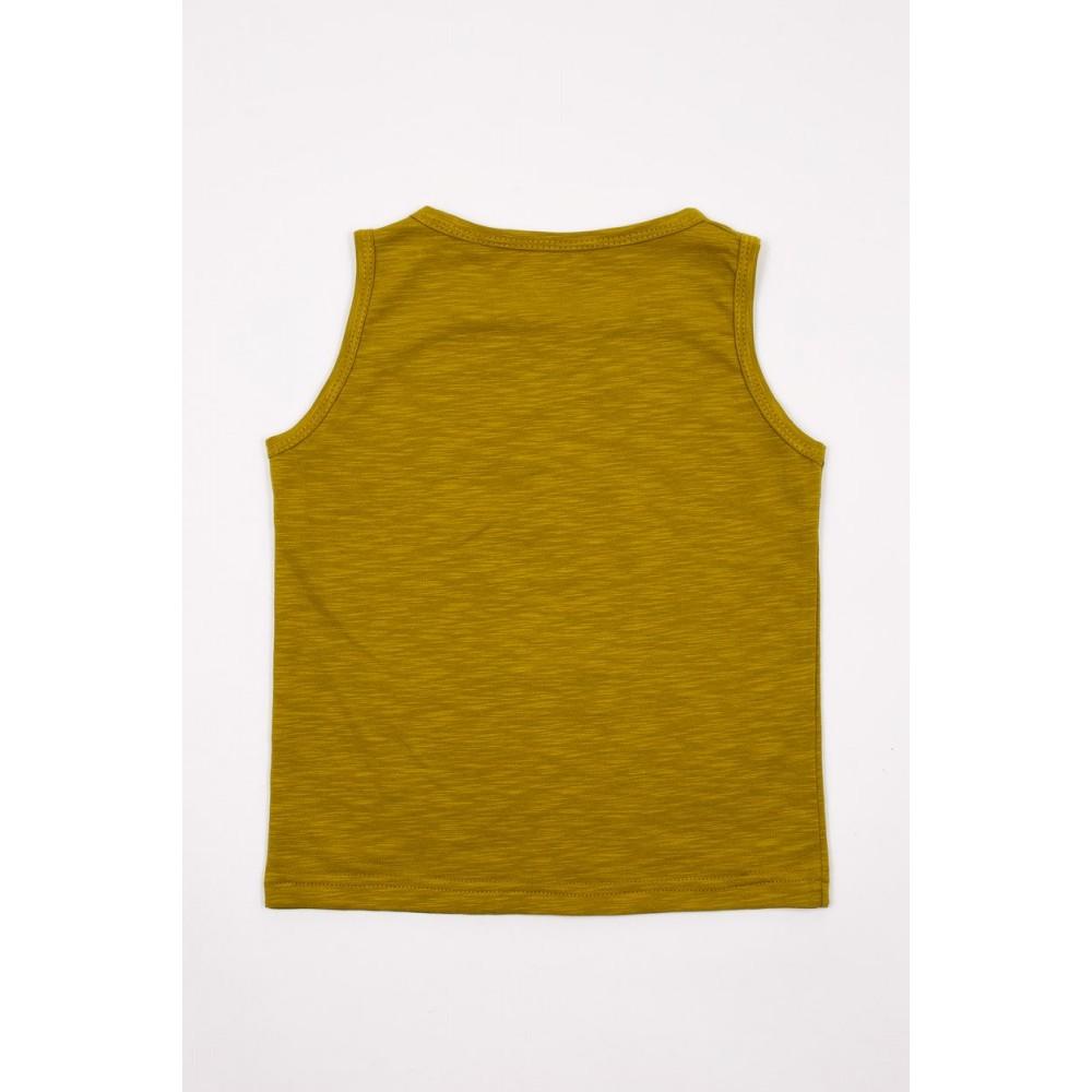 Children's T-shirt 5-19U mustard