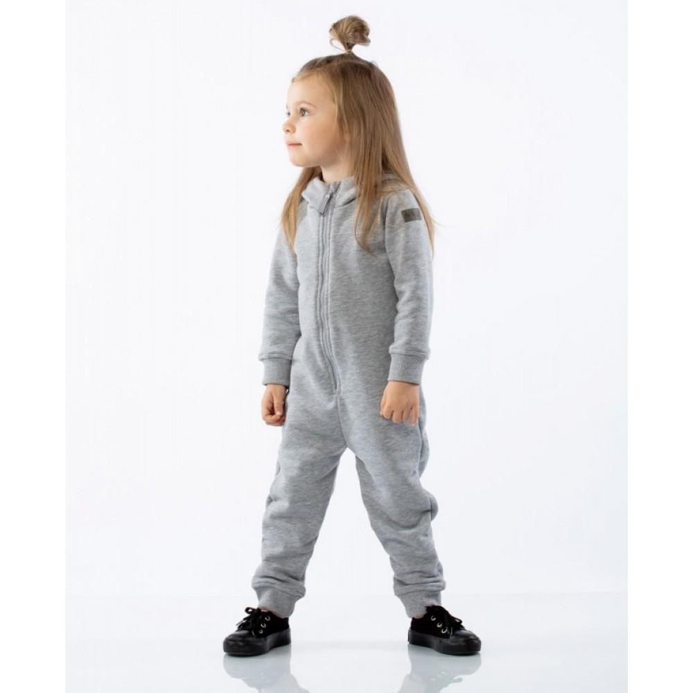 Overalls children's 9-44U gray melange
