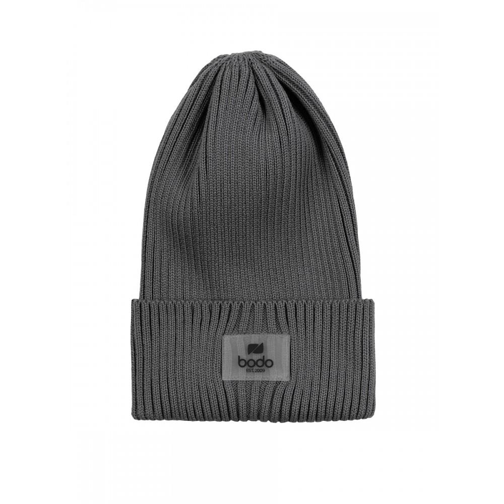 Шапка 10-342U серый