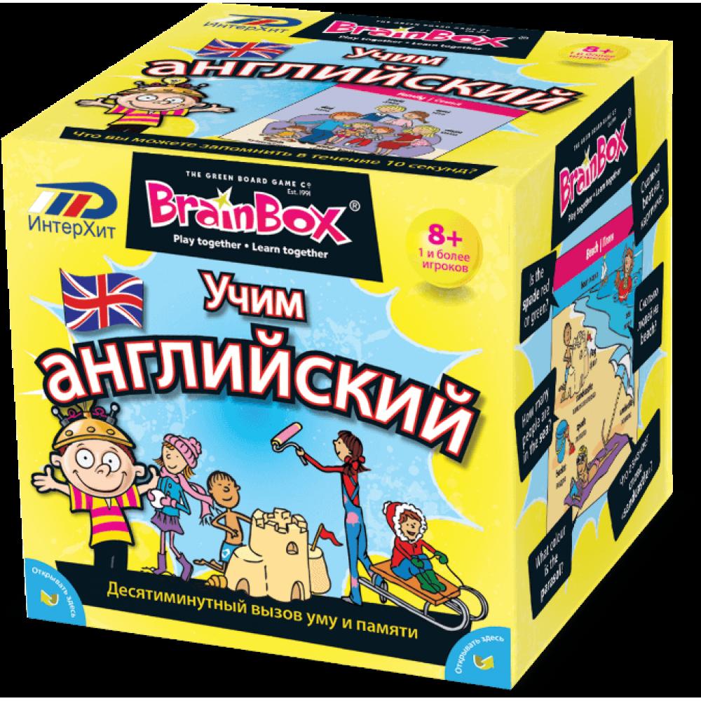 Развивающая игра BRAINBOX Учим Английский 90752
