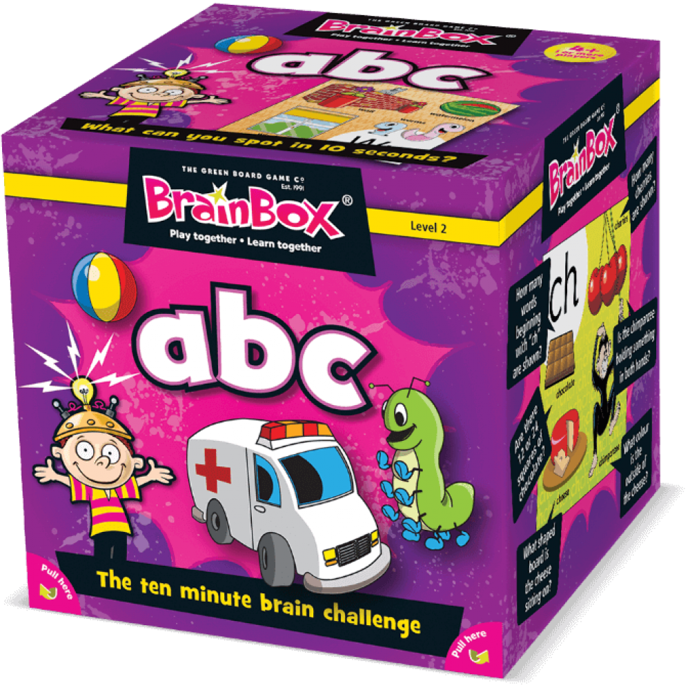 Развивающая игра BRAINBOX АВС 90020
