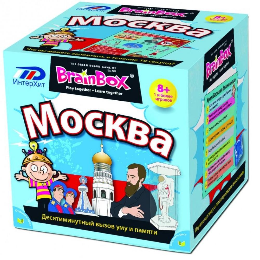 Развивающая игра BRAINBOX Москва 90716