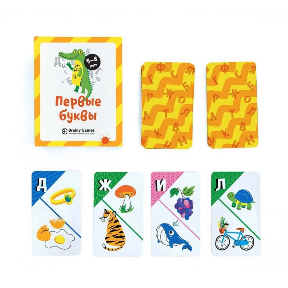 Настольная игра BRAINY GAMES Первые буквы УМ521
