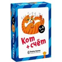 Настольная игра BRAINY GAMES Кот + счёт УМ517