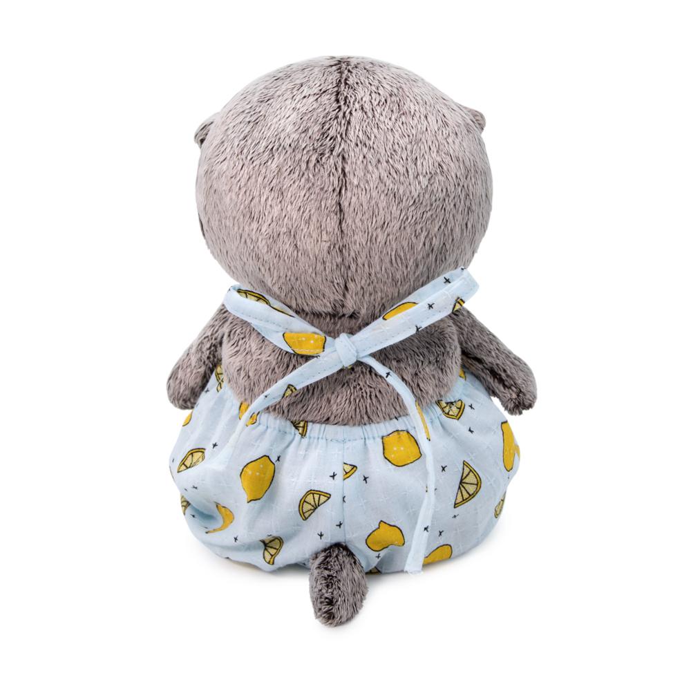Мягкая игрушка BUDI BASA Басик BABY в песочнике с лимонами 20 см BB-059