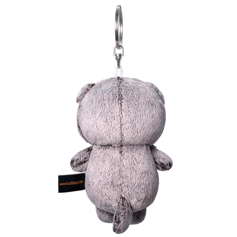 Брелок BUDI BASA Кот Басик с сердечком 12 см АВВ-012