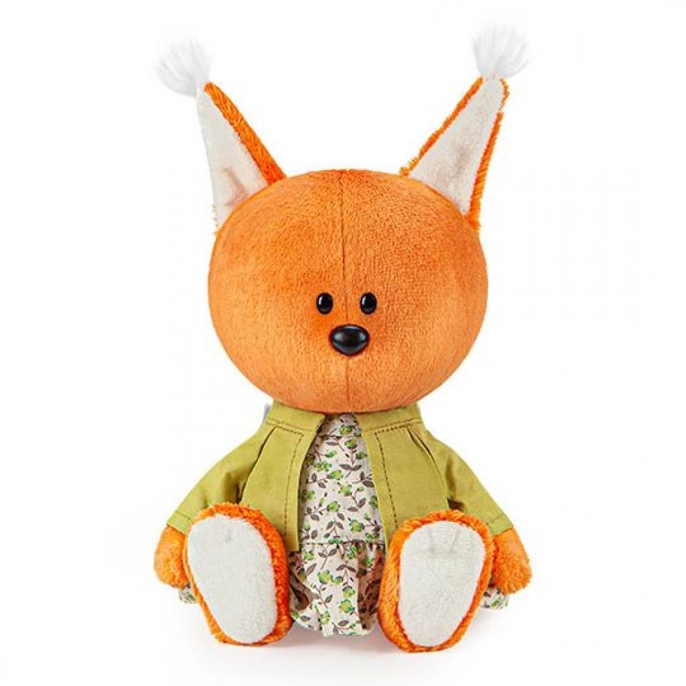 Мягкая игрушка BUDI BASA Белка Бика в платье и курточке LE15-012