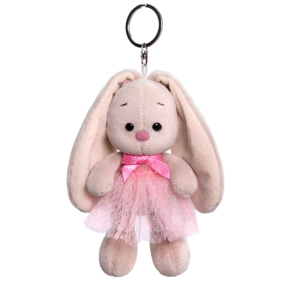 Брелок BUDI BASA Зайка Ми в розовой юбке и с бантиком ABB-011