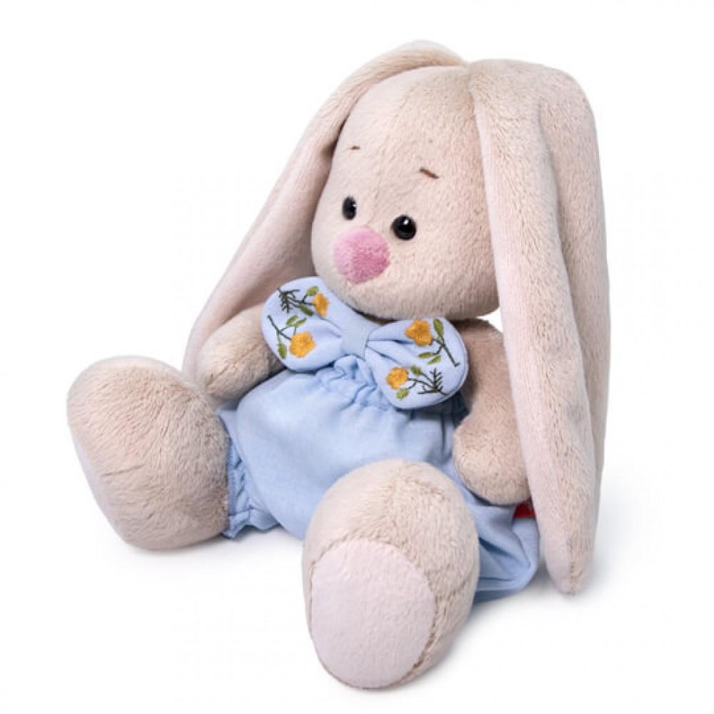 Мягкая игрушка BUDI BASA Зайка Ми в голубых шортах с бантом 15 см SidX-374