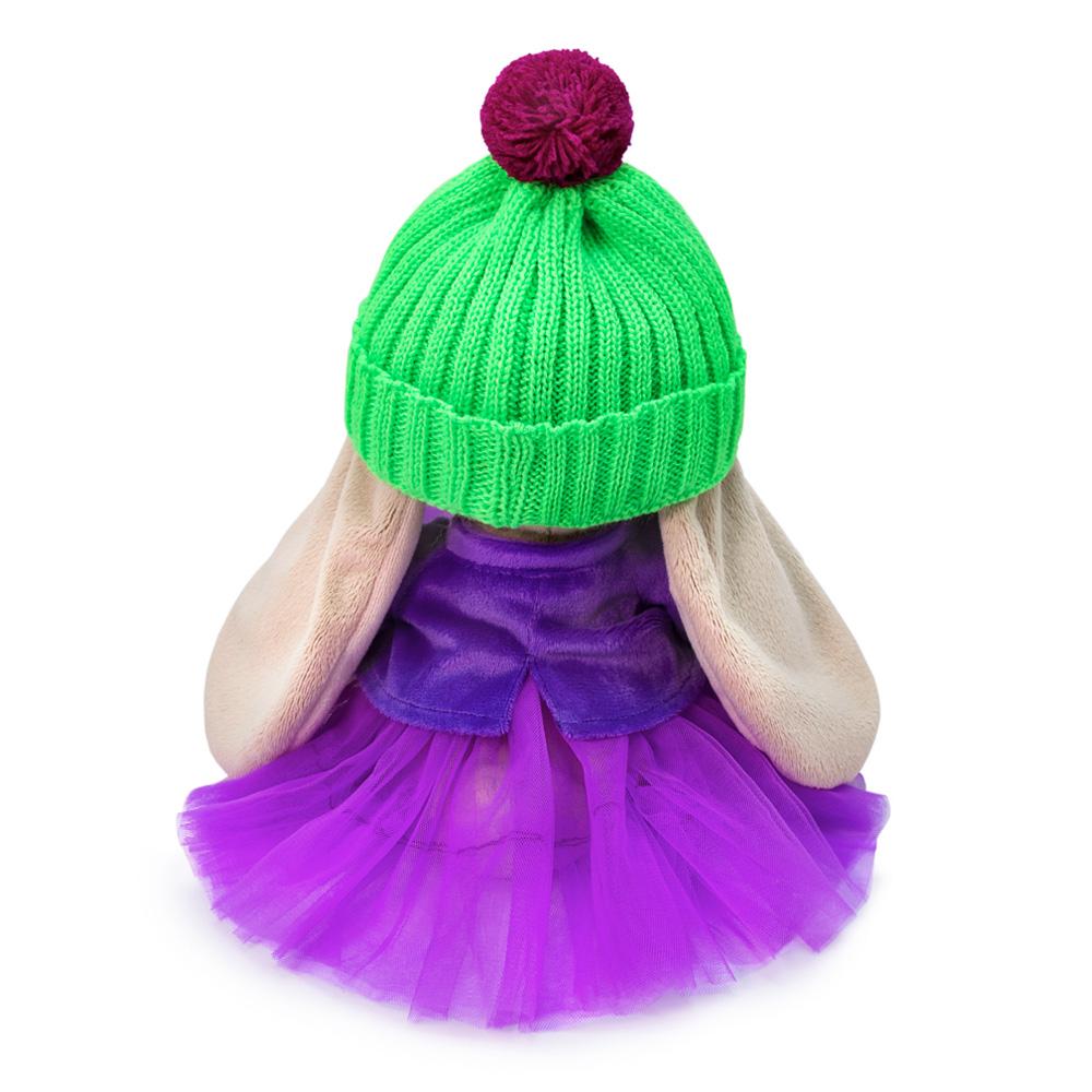 Мягкая игрушка BUDI BASA Зайка Ми Пурпурный александрит 18 см SidS-412