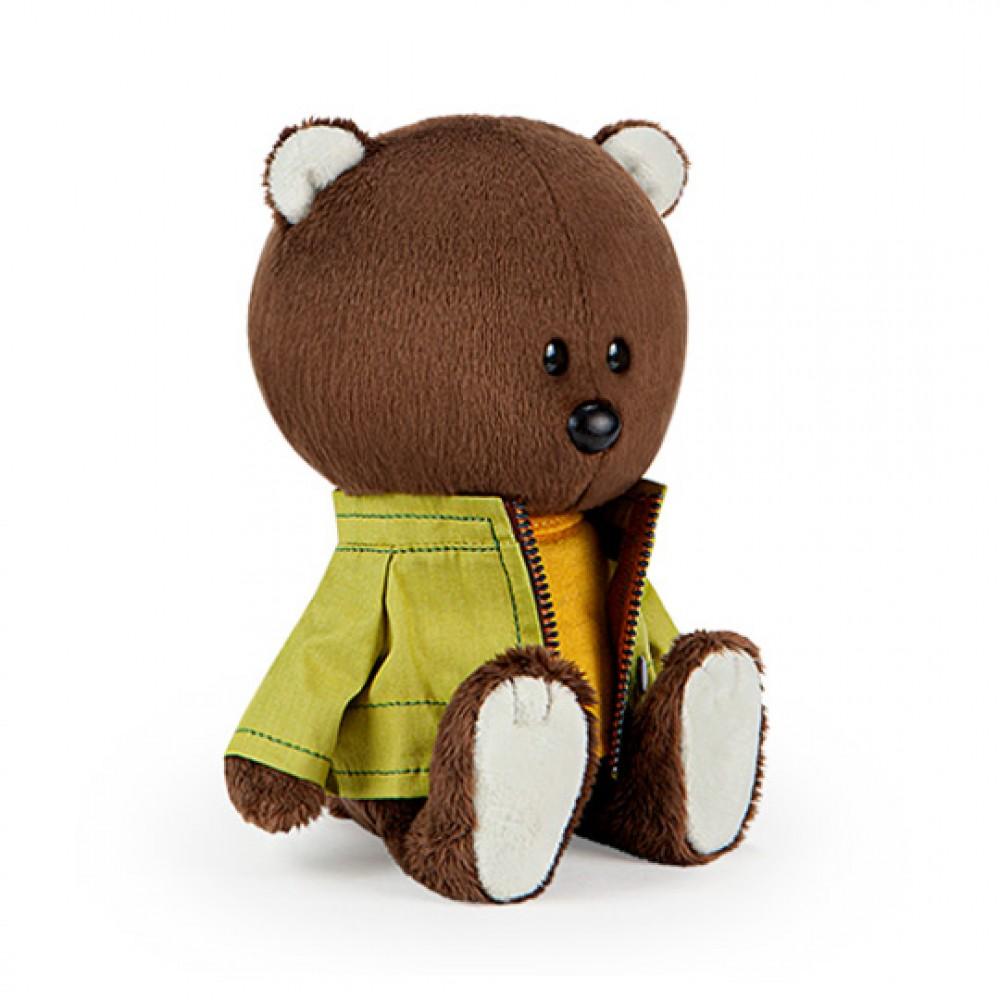 Мягкая игрушка BUDI BASA Медведь Федот в оранжевой майке и курточке LE15-072
