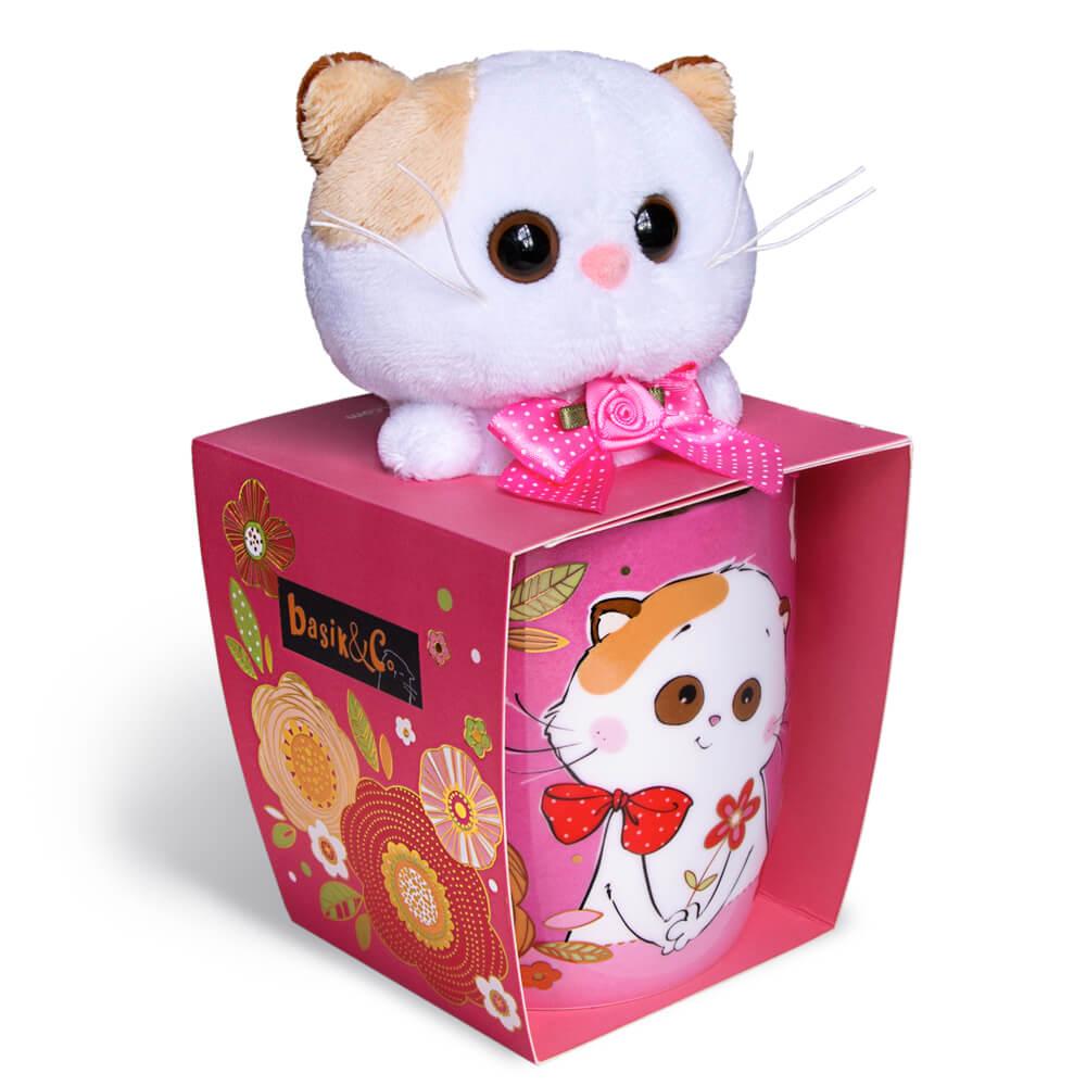 Набор BUDI BASA подарочный кружка + игрушка Лили
