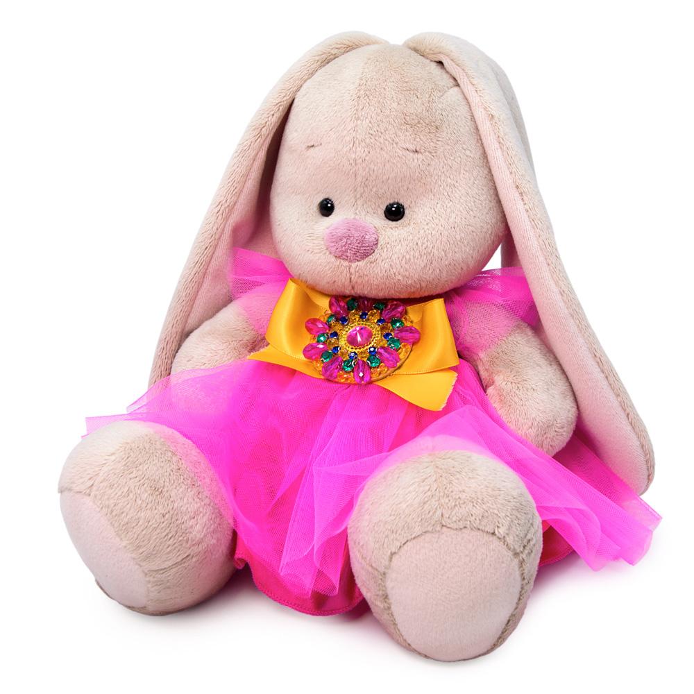 Мягкая игрушка BUDI BASA Зайка Ми Розовый кварц 18 см SidS-414