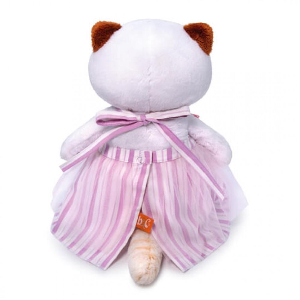 Мягкая игрушка BUDI BASA Ли-Ли в платье с бабочками 27 см LK27-053