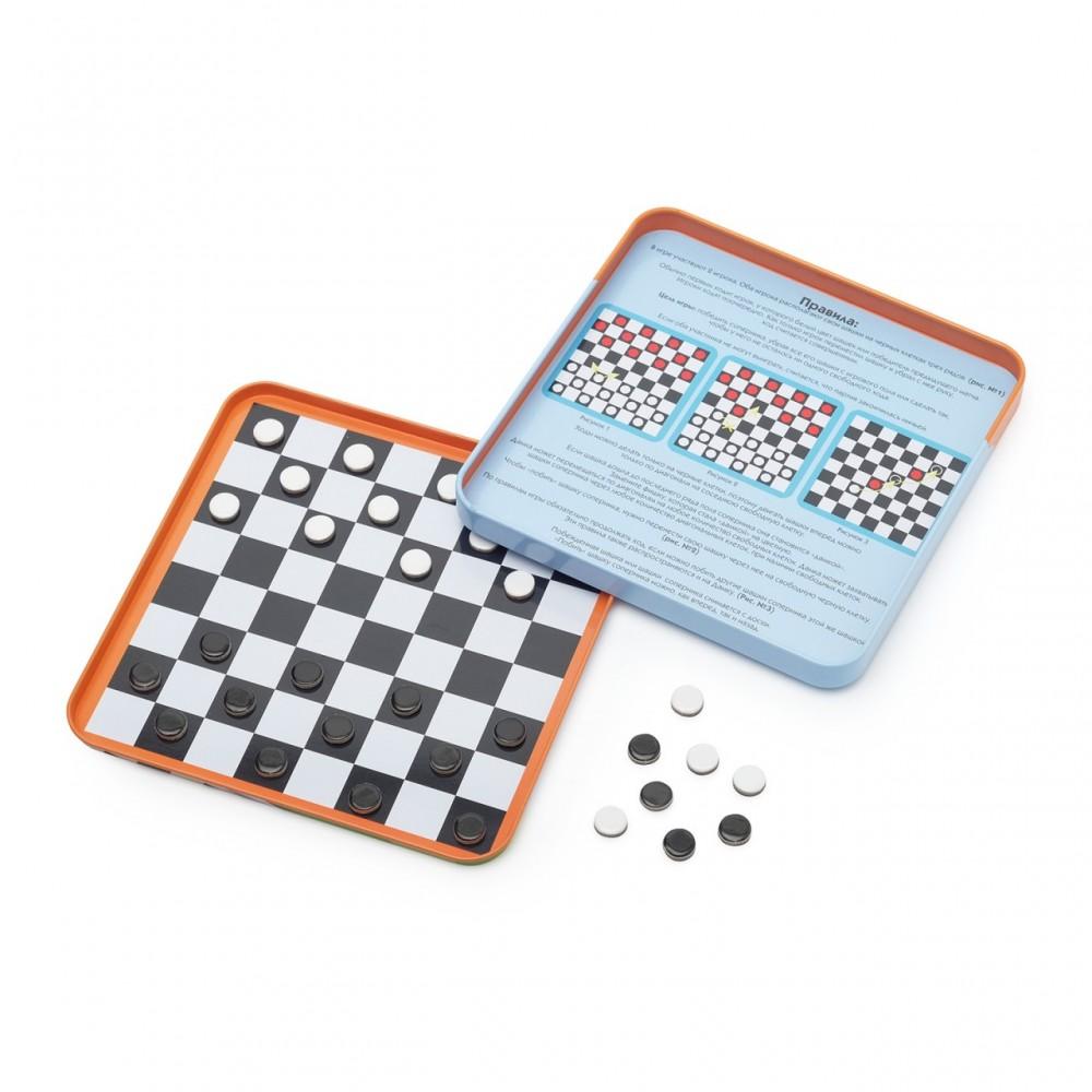 Магнитная игра БУМБАРАМ Шашки IM-1007