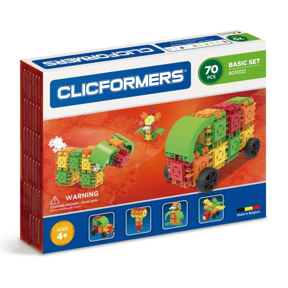 CLICFORMERS 801002 Basic Set 70