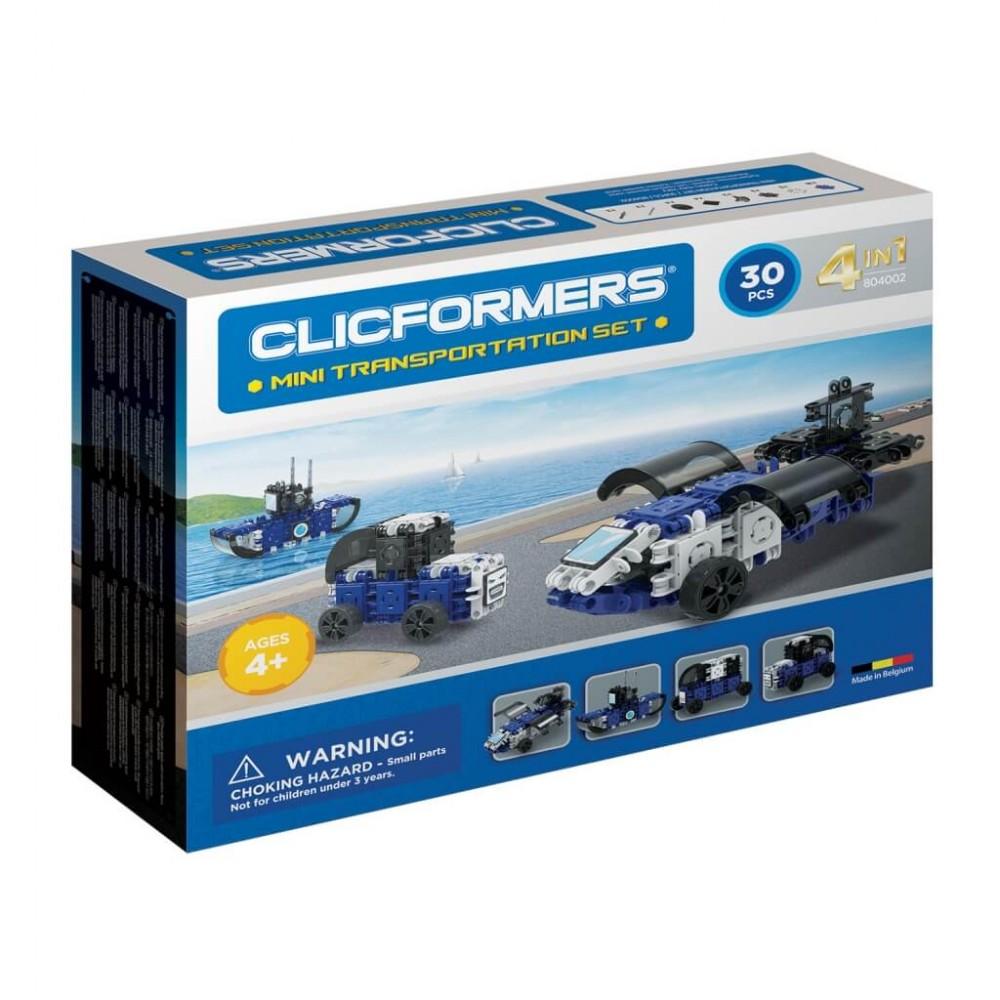 CLICFORMERS 804002 Transportation set mini 30