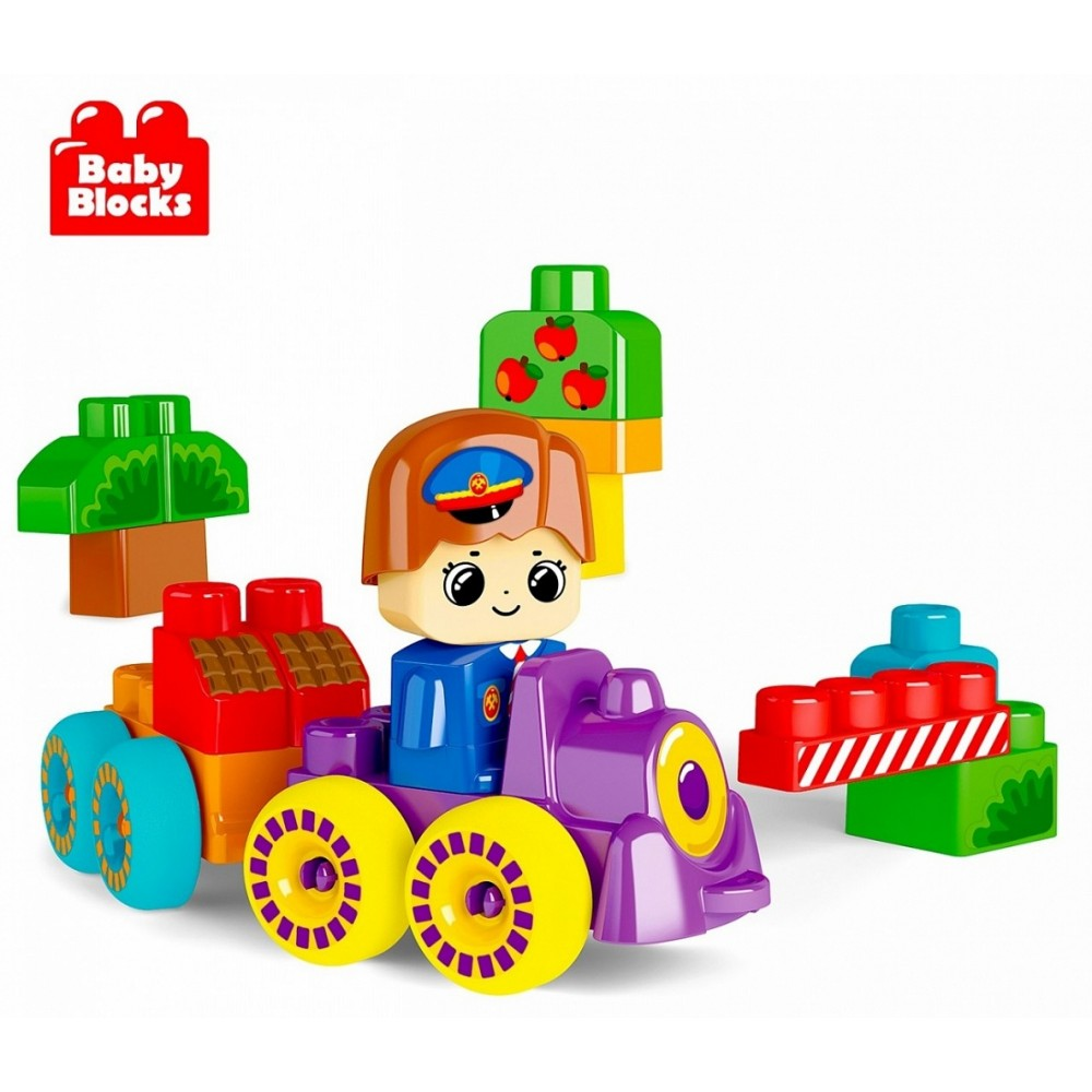 Constructor TENTH KINGDOM Cheerful little train