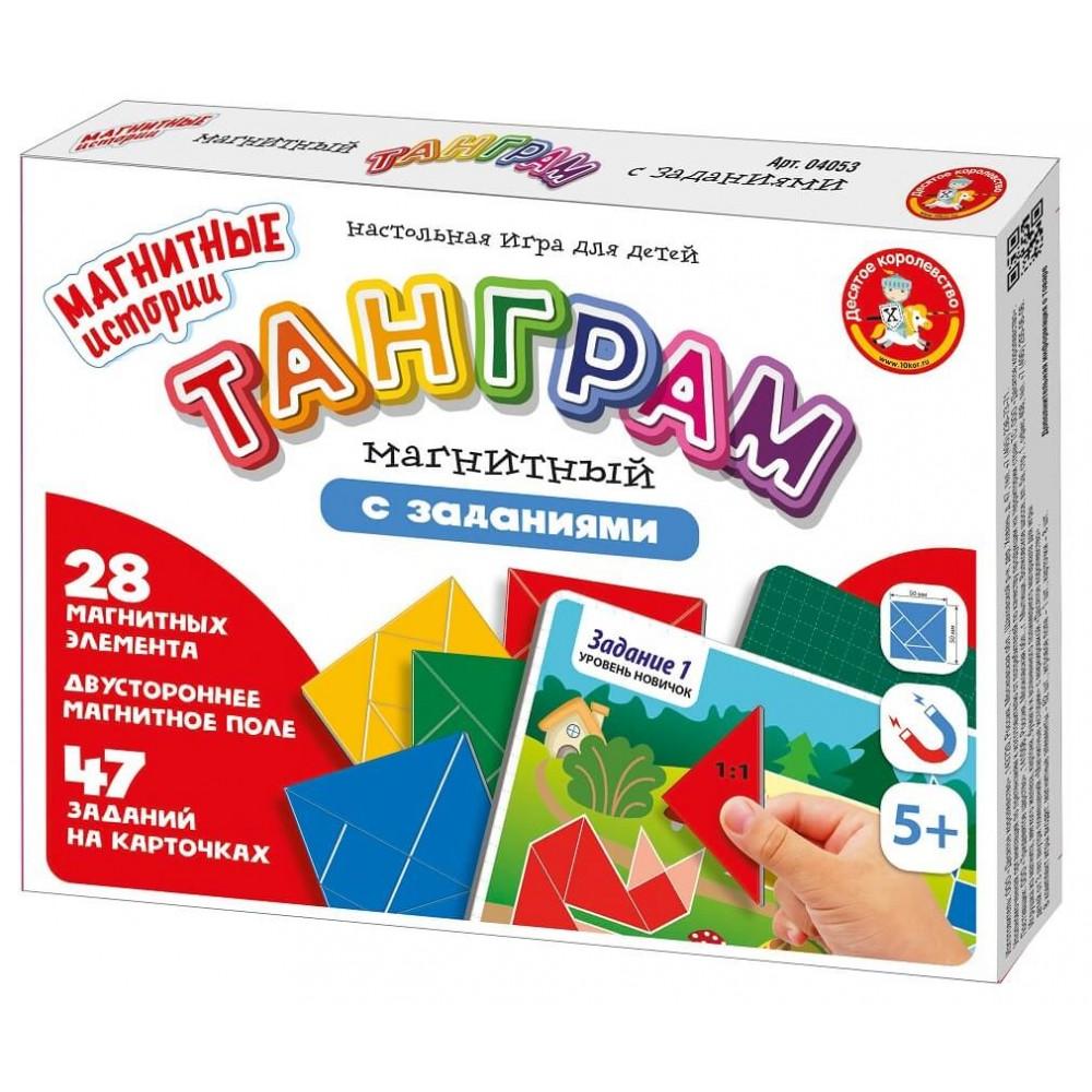 Настольная игра Танграм магнитный
