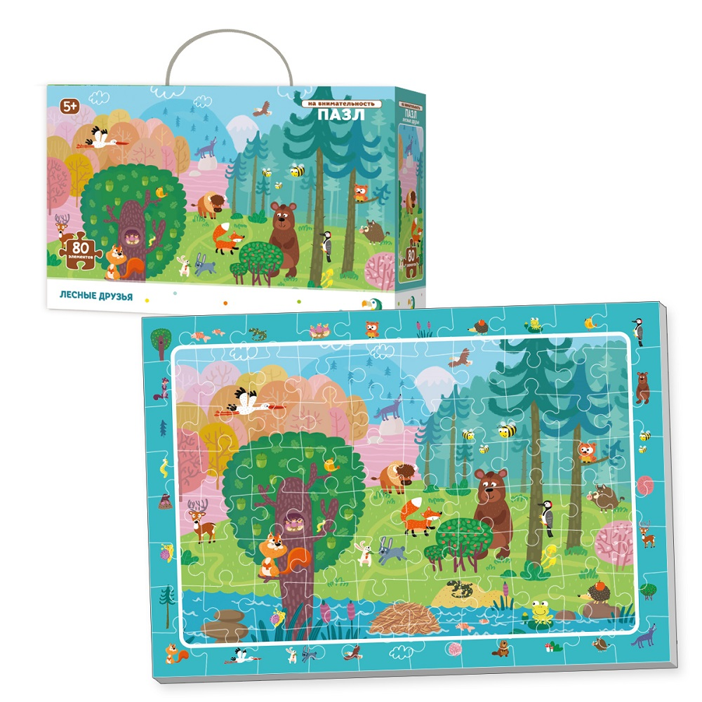 Puzzle for attentiveness Forest Friends Art. R300140