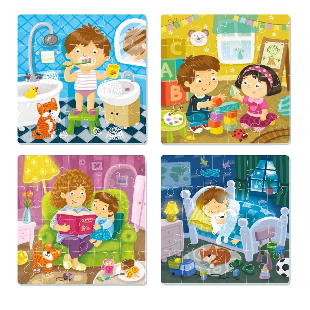 Puzzle 4 in 1 Schedule Art. R300130