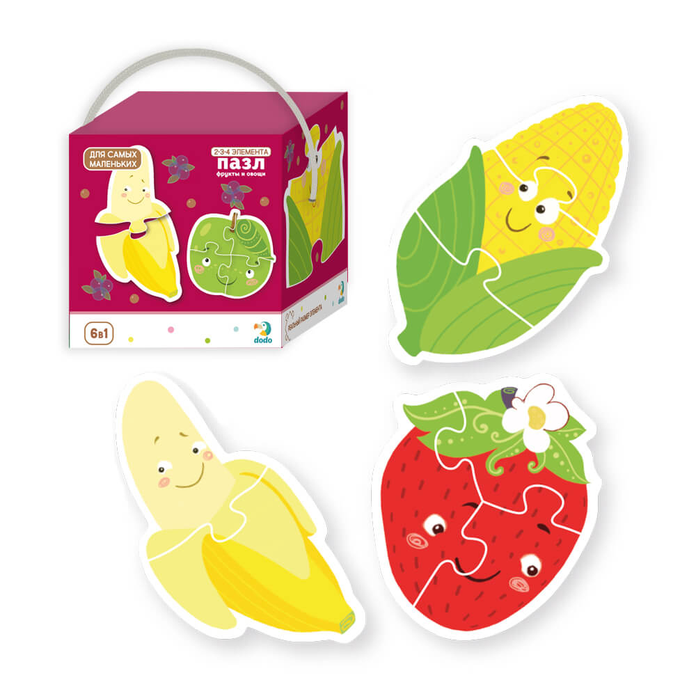 Puzzle Fruits and vegetables Art. R300155