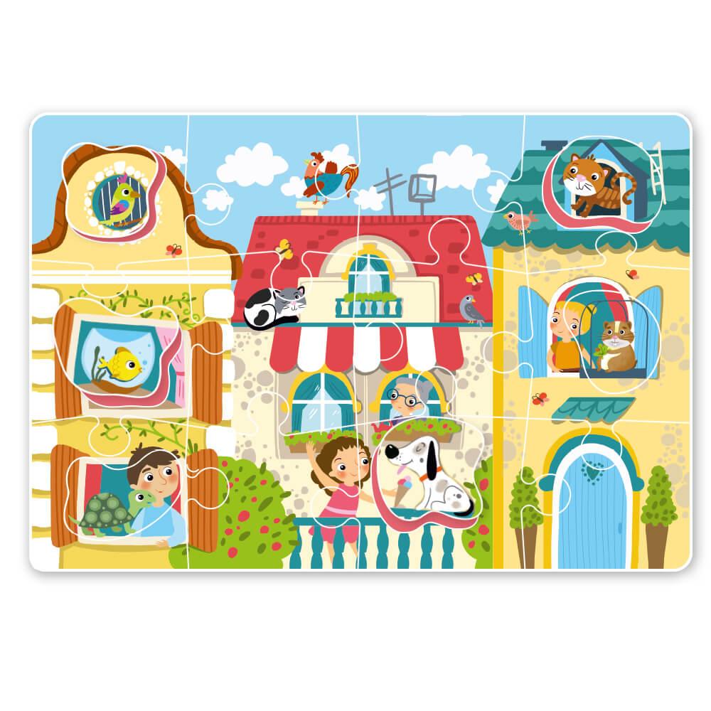 """Puzzle sorter """"Pets"""" Art. R300160"""