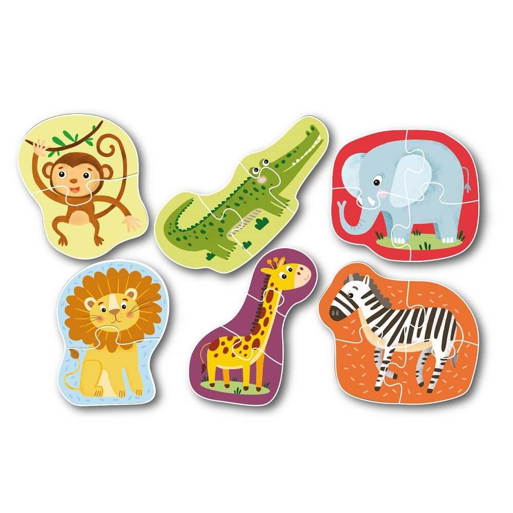 Puzzle Wild animals Art. R300153