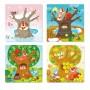 Puzzle 4 in 1 Seasons Art. R300125