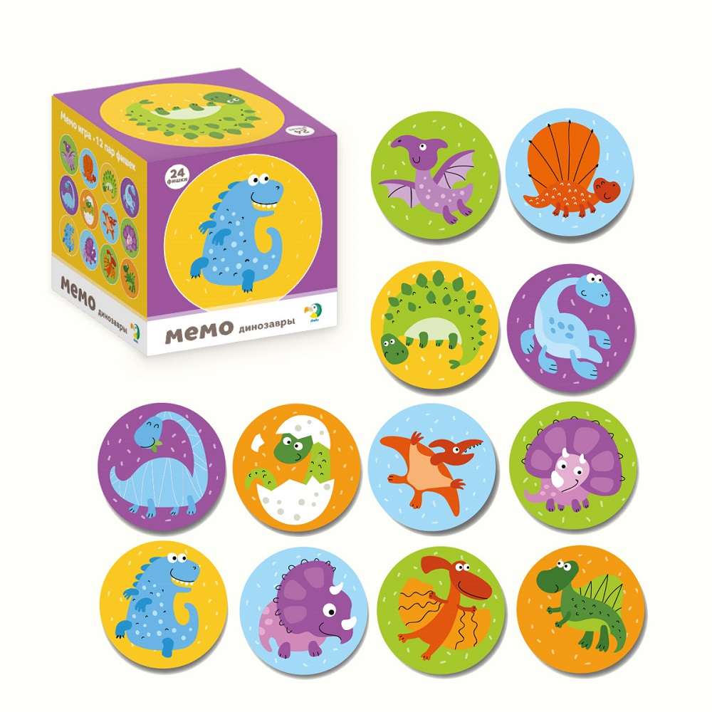 Memo-game Dinosaurs Art. R300142