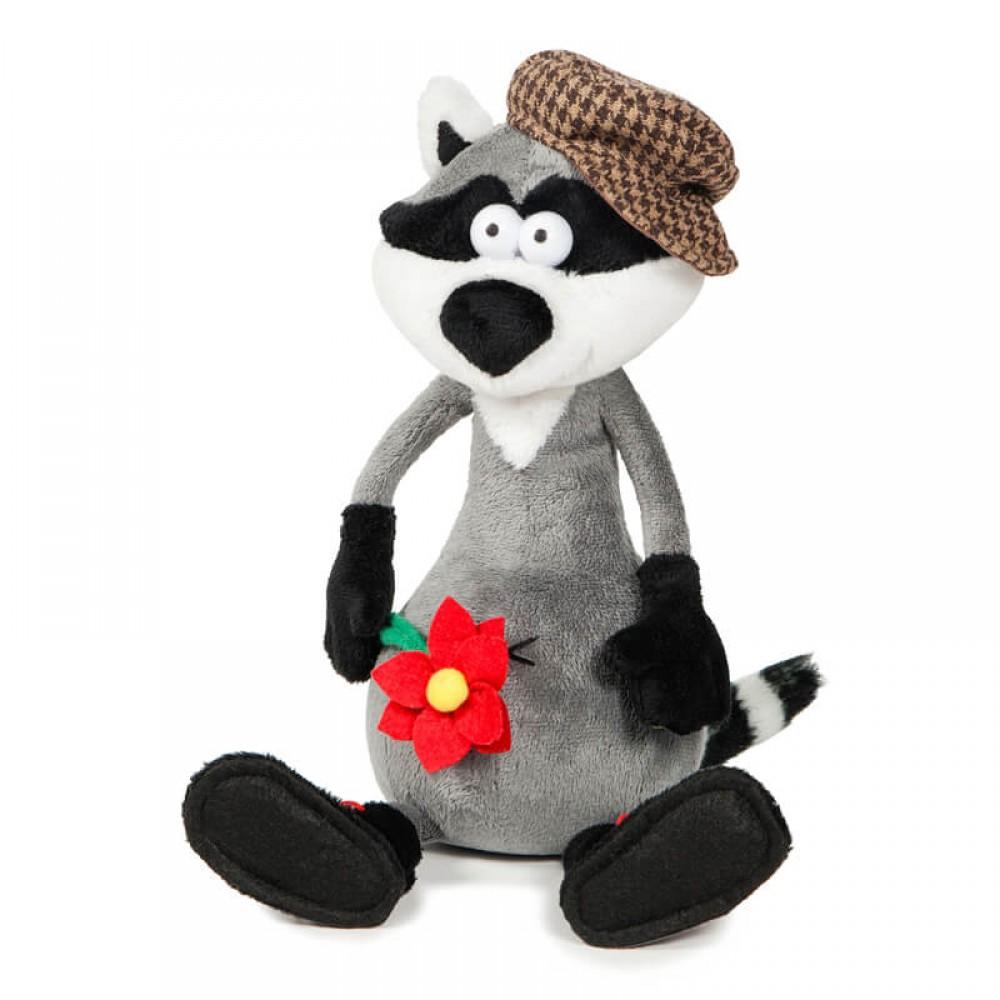 Soft toy DURASHKI Raccoon & Romashka