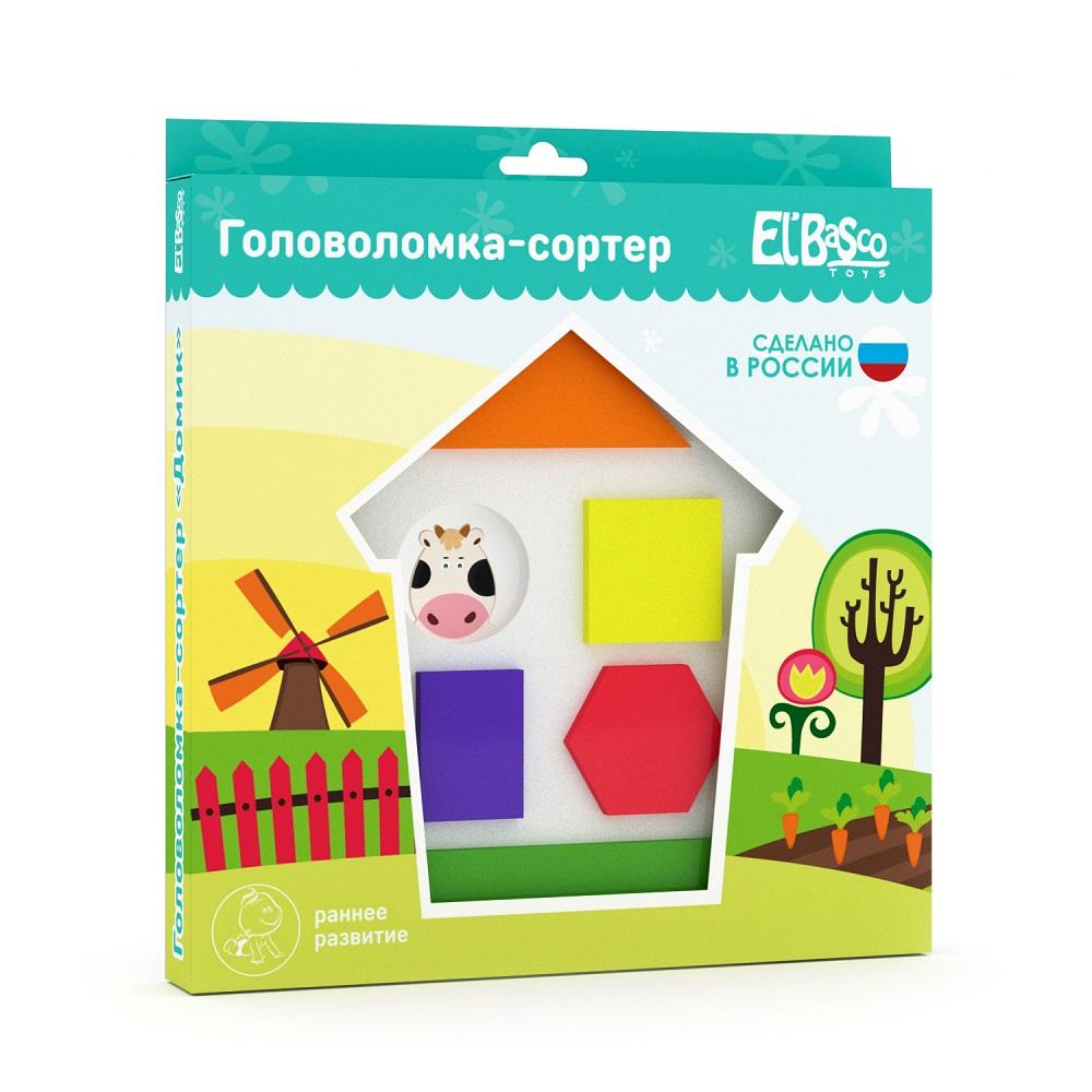 "Puzzle sorter ""House"" Art. 04-001"