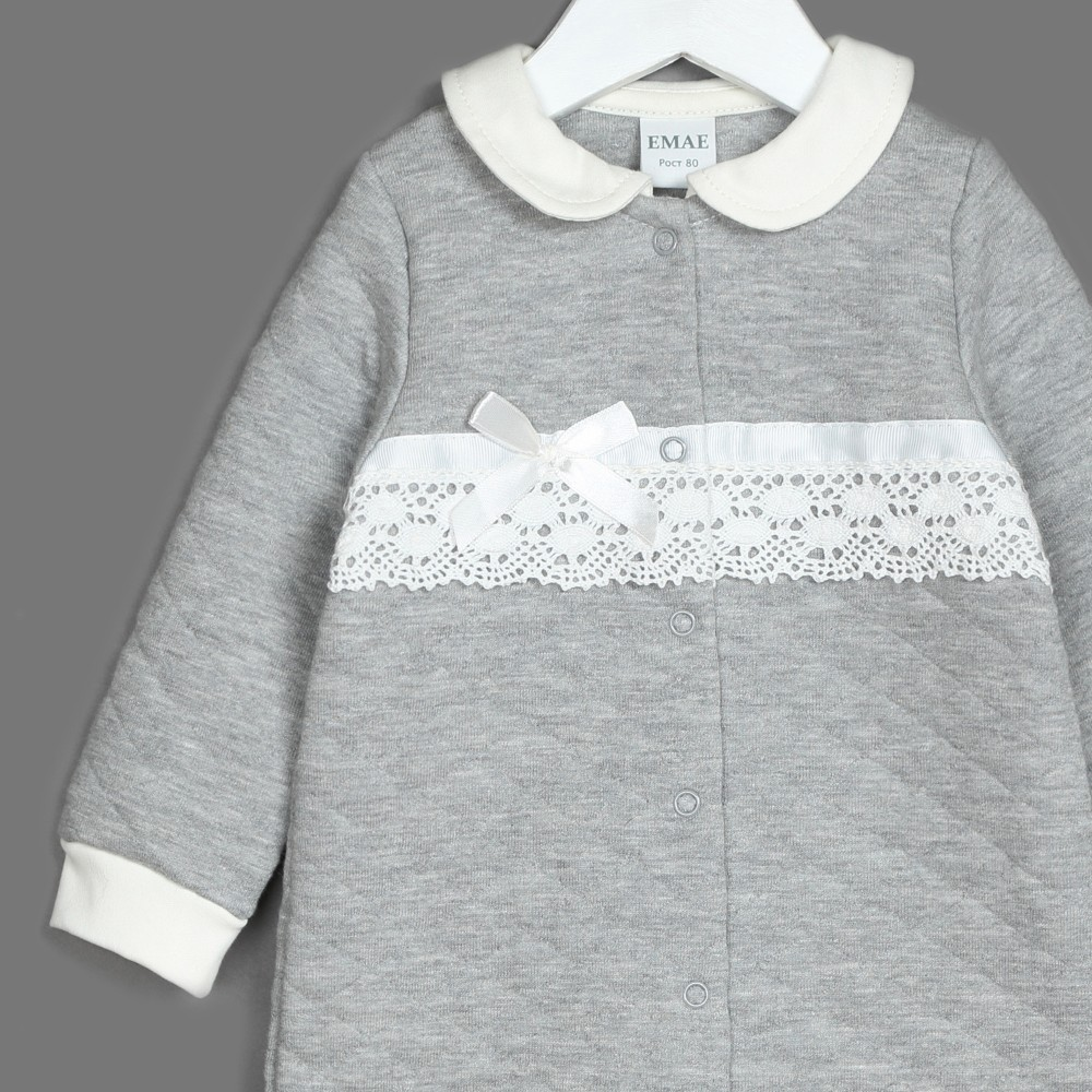 Комбинезон 22-810 светло-серый