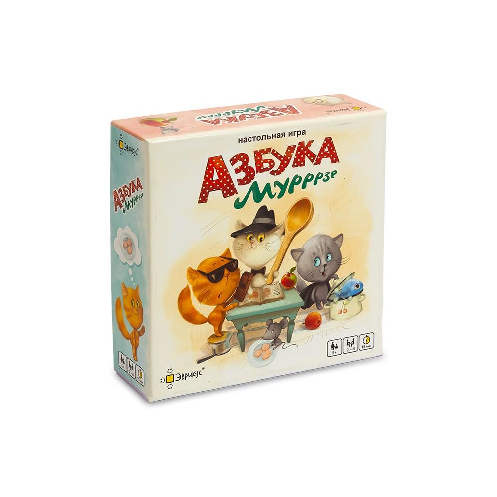 Настольная игра ЭВРИКУС Азбука Мурррзе PG-17024-1