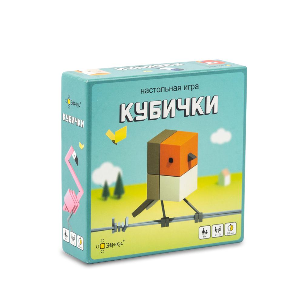 Настольная игра ЭВРИКУС Кубички BG-11039